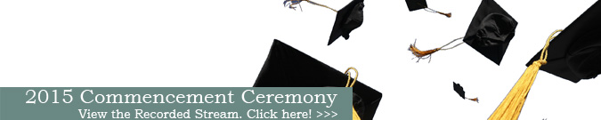 2015 GBC Commencement Video Stream graphic