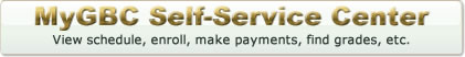MyGBC Self-Service Center: View Schedule and/or Register & Pay for Classes