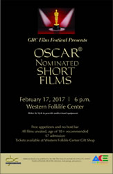 2017 GBC Film Festival Oscar Nominated Short Films.