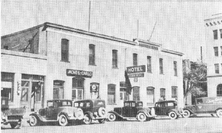the Commercial looked much as it did in 1928. Photograph from Milo Taber Collection, Northeastern Nevada Museum, Elko