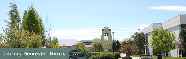 Great Basin College: Library - Library Semester Hours